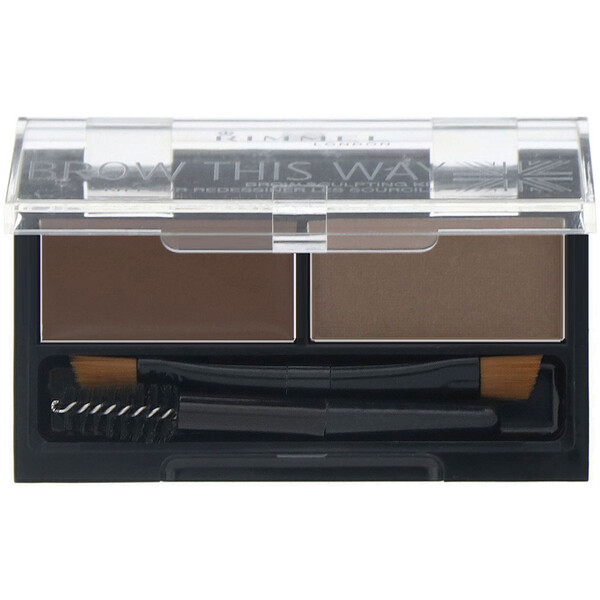 Brow This Way Brow Sculpting Kit, 003 Dark Brown, 1 Kit