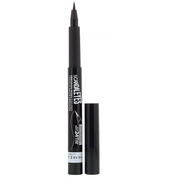 Rimmel London, Delineador micro Scandaleyes, 001 preto, 1,1 ml