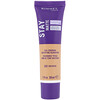 Rimmel London, Stay Matte Full Coverage Mattifying Foundation, 202 Sun Beige, 1 fl oz (30 ml)