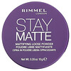 Rimmel London, Stay Matte, Mattifying Loose Powder, 001 Transparent, 0.35 oz (10 g)