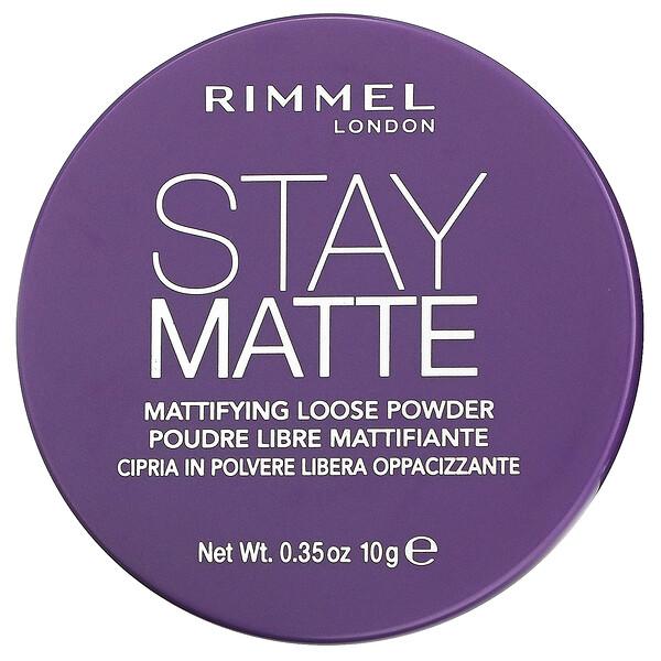Stay Matte, Mattifying Loose Powder, 001 Transparent, 0.35 oz (10 g)