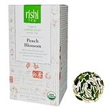 Отзывы о Rishi Tea, Органический листовой белый чай, цветки персика, 1,13 унции (32 г)