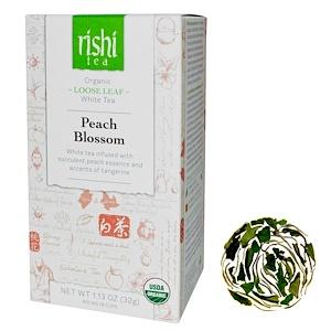Риши Ти, Organic Loose Leaf White Tea, Peach Blossom, 1.13 oz (32 g) отзывы