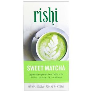 Риши Ти, Japanese Green Tea Latte Mix, Sweet Matcha, 4.4 oz (125 g) отзывы покупателей
