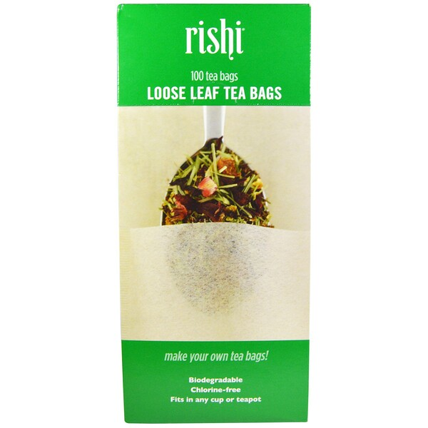 Loose Leaf Tea Filter Bags, 100 Bags