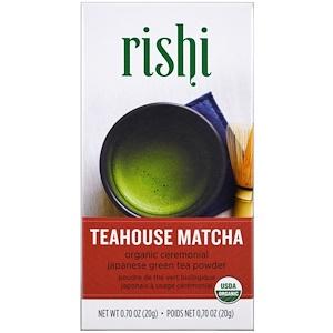 Риши Ти, Teahouse Matcha, Organic Ceremonial Japanese Green Tea Powder, 0.70 oz (20 g) отзывы покупателей