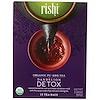 Rishi Tea, Органический пу-эр, детокс из одуванчика, 15 чайных пакетиков, 57 г