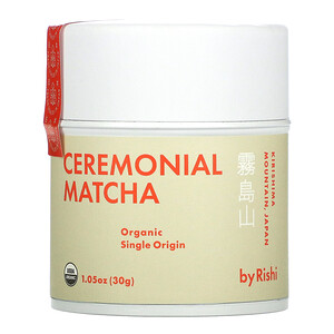 Rishi Tea, Ceremonial Matcha, 1.05 oz (30 g)