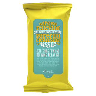 Ariul, Stress Relieving Purefull Cleansing Tissue, 15 Sheets