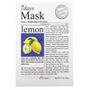Ariul, 7 Days Mask, Lemon, 1 Sheet Mask, 0.7 oz (20 g)