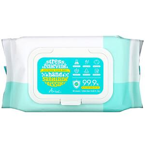 Ariul, Hand Sanitizing Wipes, 99.9% Efficacy, Aloe Vera, 80 Tissues отзывы покупателей