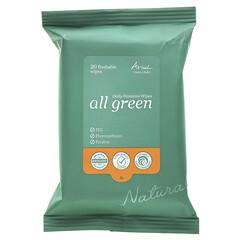 Ariul, 環保型可沖式私密部位日常護理濕巾,20 張裝
