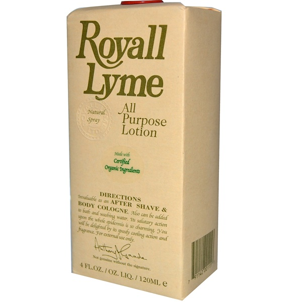 Royall Lyme Bermuda Ltd., All Purpose Lotion, 4 fl oz (120 ml) (Discontinued Item)