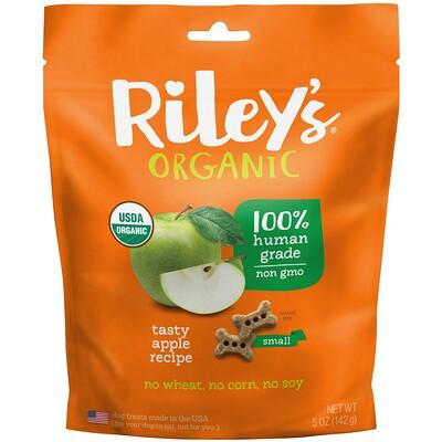 Купить Riley's Organics Угощение для собак, Маленькая кость, Яблоко, 5 унций (142 г)