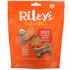 Riley's Organics, Friandises pour chien, Os grand format, Recette patate douce, 142g