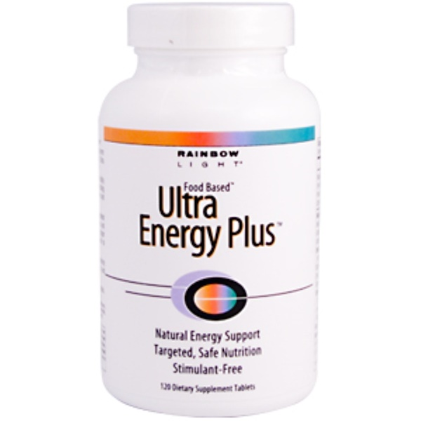 Rainbow Light, Ultra Energy Plus, 120 Tablets (Discontinued Item)