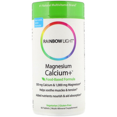 Магний и кальций+, пищевая формула, 90 таблеток кальций магний и цинк 250 таблеток
