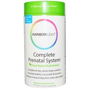 Раинбов Лигхт, Complete Prenatal System, Food-Based Multivitamin, 180 Tablets отзывы покупателей