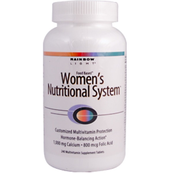 Rainbow Light, Women's Nutritional System, 240 Tablets (Discontinued Item)
