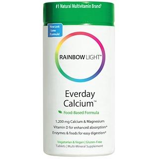 Rainbow Light, Everyday Calcium, Food-Based Formula, 120 Tablets