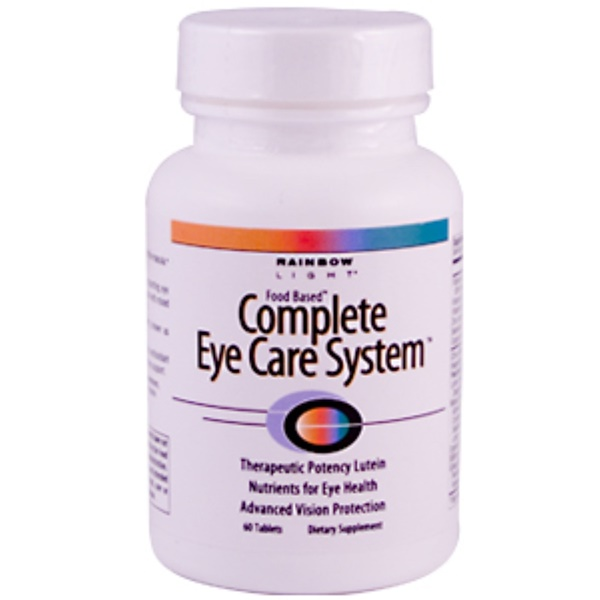 Rainbow Light, Complete Eye Care System, 60 Tablets (Discontinued Item)