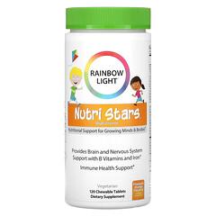 Rainbow Light, 營養星,多維生素,混鳳梨香橙味,120 片咀嚼片