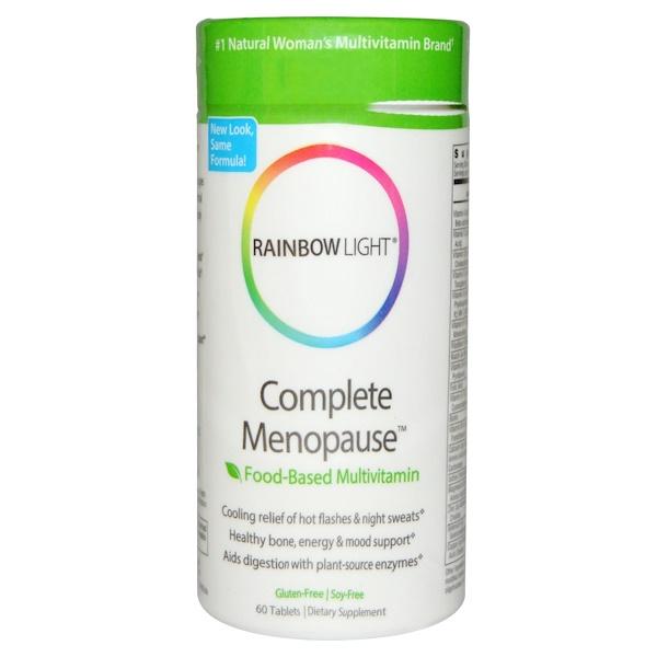 Rainbow Light, Complete Menopause, Food-Based Multivitamin, 60 Tablets (Discontinued Item)