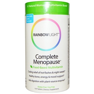 Rainbow Light, Complete Menopause Food-Based Multivitamin, 120 Tablets