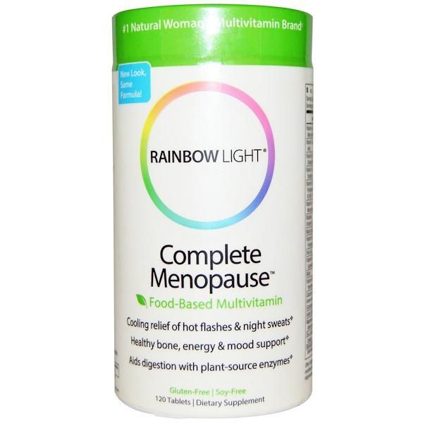Rainbow Light, Complete Menopause Food-Based Multivitamin, 120 Tablets (Discontinued Item)