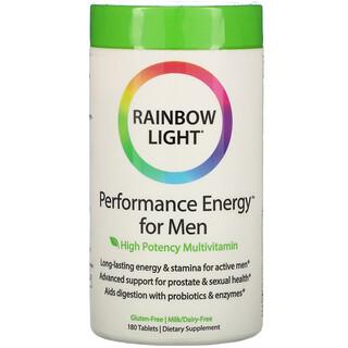 Rainbow Light, Performance Energy for Men, 180 Tablets