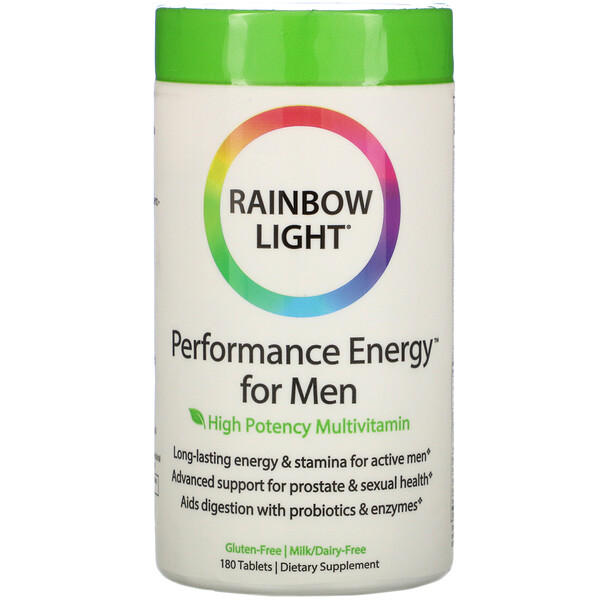 Rainbow Light, Performance Energy for Men, 180 Tablets
