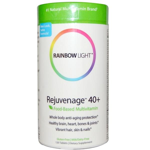 Rainbow Light, Rejuvenage 40+, Food-Based Multivitamin, 120 Tablets (Discontinued Item)