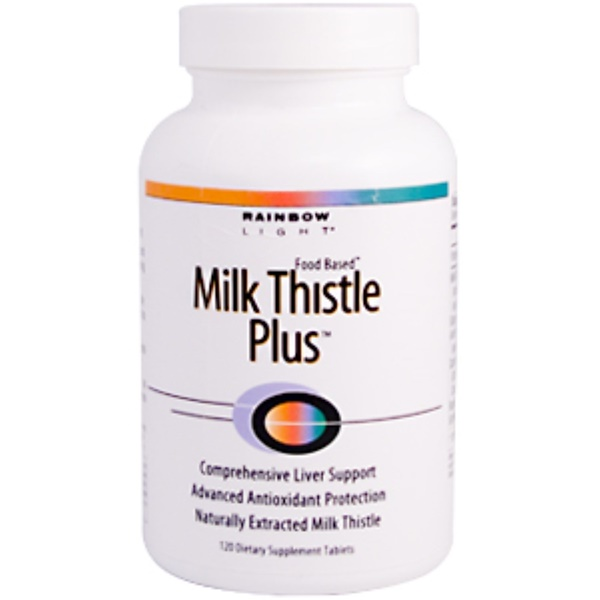 Rainbow Light, Milk Thistle Plus, 120 Tablets (Discontinued Item)
