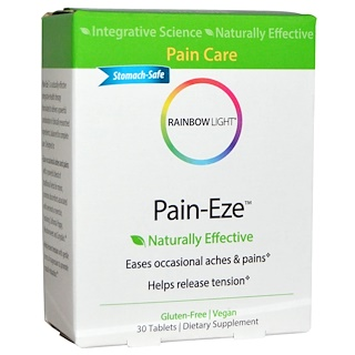 Rainbow Light, Pain-Eze, 30 Tablets