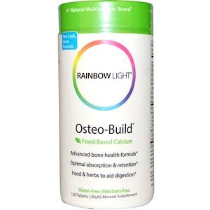 Раинбов Лигхт, Osteo-Build, Food-Based Calcium, 120 Tablets отзывы