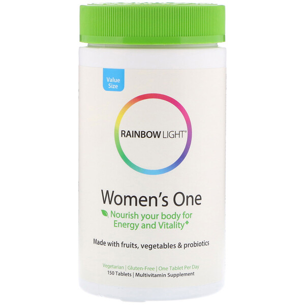 Rainbow Light, Women's One, 150 Tablets