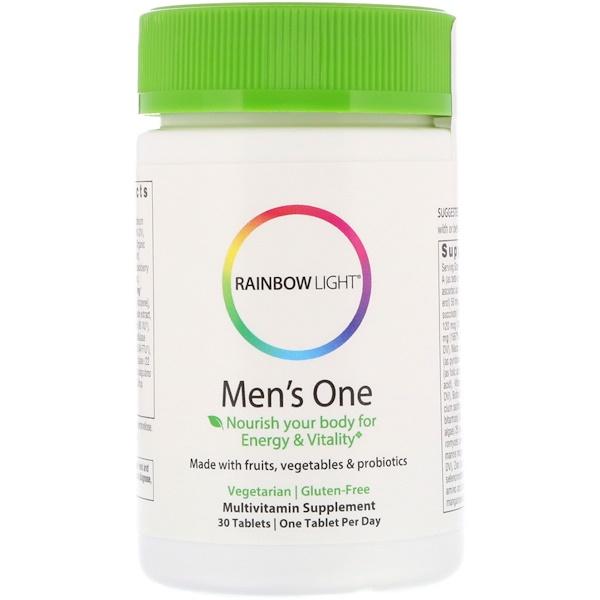 Rainbow Light, Men's One, 30 таблеток