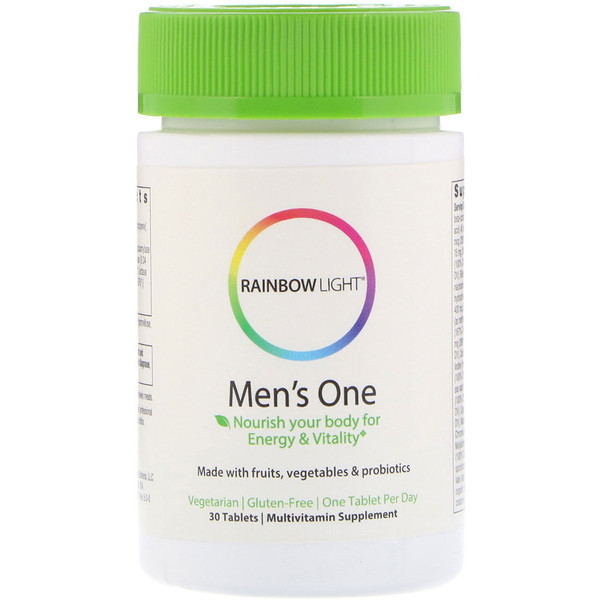 Rainbow Light, Men's One, 30 Tablets