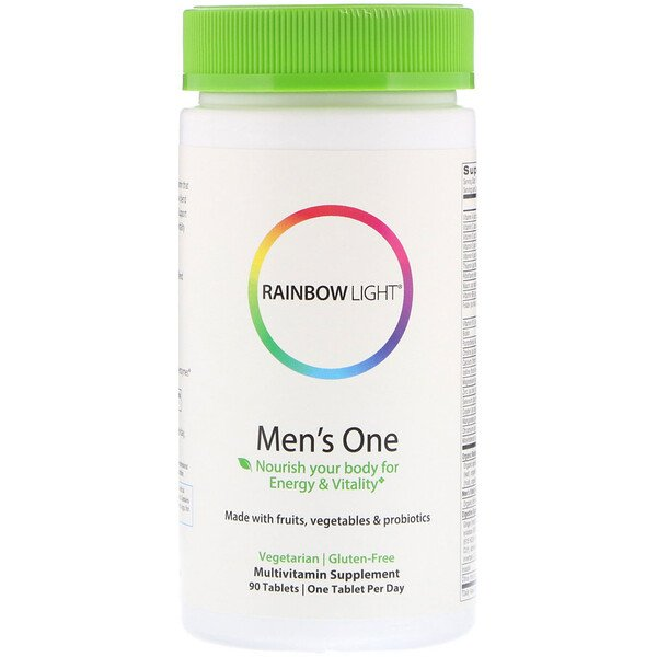 Rainbow Light, Men's One، عدد 90 قرص