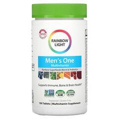 Rainbow Light, 男性每日一片複合維生素,150 片