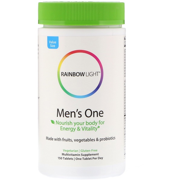 Rainbow Light, Men's One, 150 Tablets