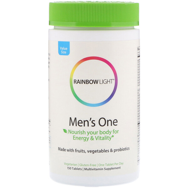 Rainbow Light, Men's One، 150 قرصاً