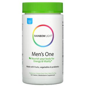 Раинбов Лигхт, Men's One Multivitamin, 150 Tablets отзывы покупателей