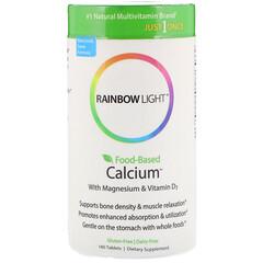 Rainbow Light, Just Once, Food-Based Calcium, 180 Tablets