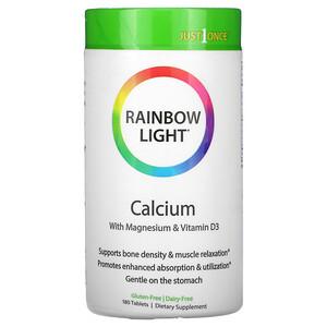 Раинбов Лигхт, Just Once, Calcium , 180 Tablets отзывы