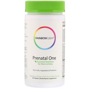 Раинбов Лигхт, Prenatal One, 90 Tablets отзывы покупателей