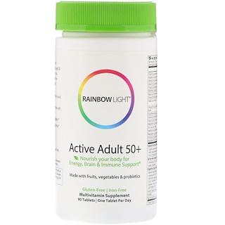 Rainbow Light, Active Adult 50+, 90 Tablets