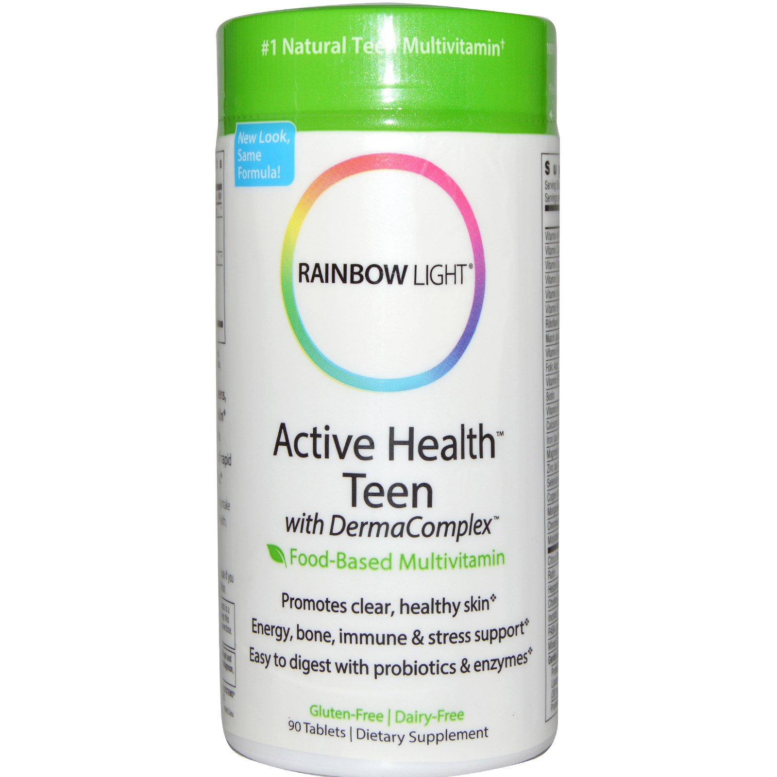 Image result for rainbow light active teen health