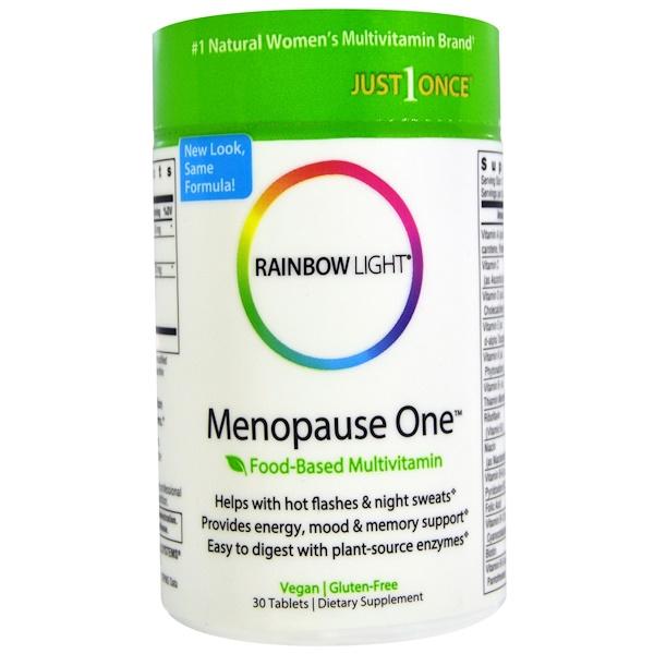 Rainbow Light, Menopause One, Food-Based Multivitamin, 30 Tablets (Discontinued Item)