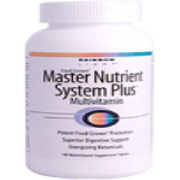 Rainbow Light, Master Nutrient System Plus, Multi + Daily Program, 180 Tablets (Discontinued Item)